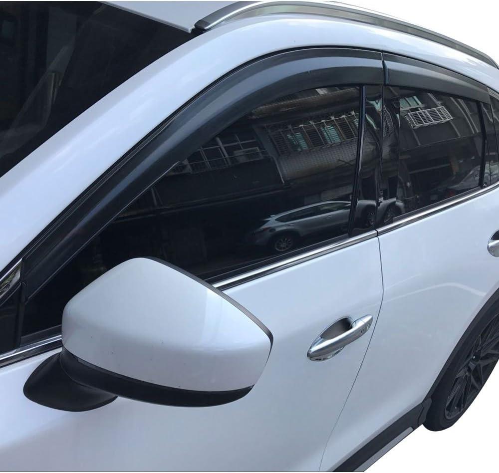 Racingbees 2017-2018 Mazda CX-5 Side Window Visor 4 pcs