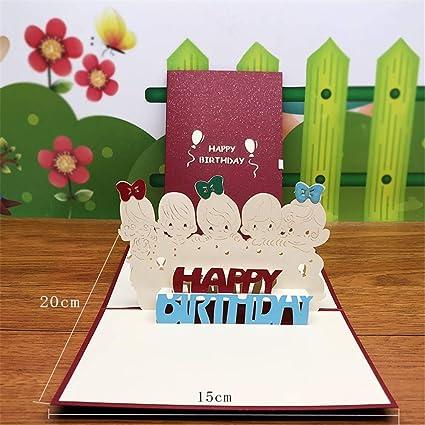 Tarjeta de feliz cumpleaños para su madre y su esposa, 3 ...