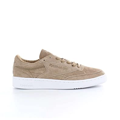 Zapatillas Reebok - Club C 85 Lst crema/marrón/blanco talla: 39: Amazon.es: Zapatos y complementos
