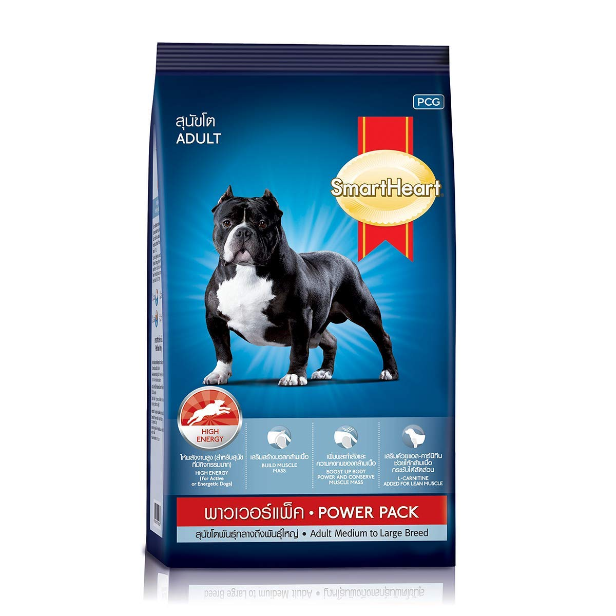 Smart Heart Power Pack Dry Adult Dog Food, 20 kg