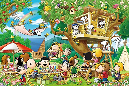1000 piece jigsaw puzzle PEANUTS Treehouse (50x75cm)
