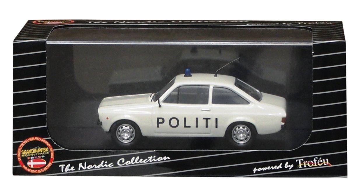 Trofeu 1/43 Ford Escort MkII Danish police (japan import)