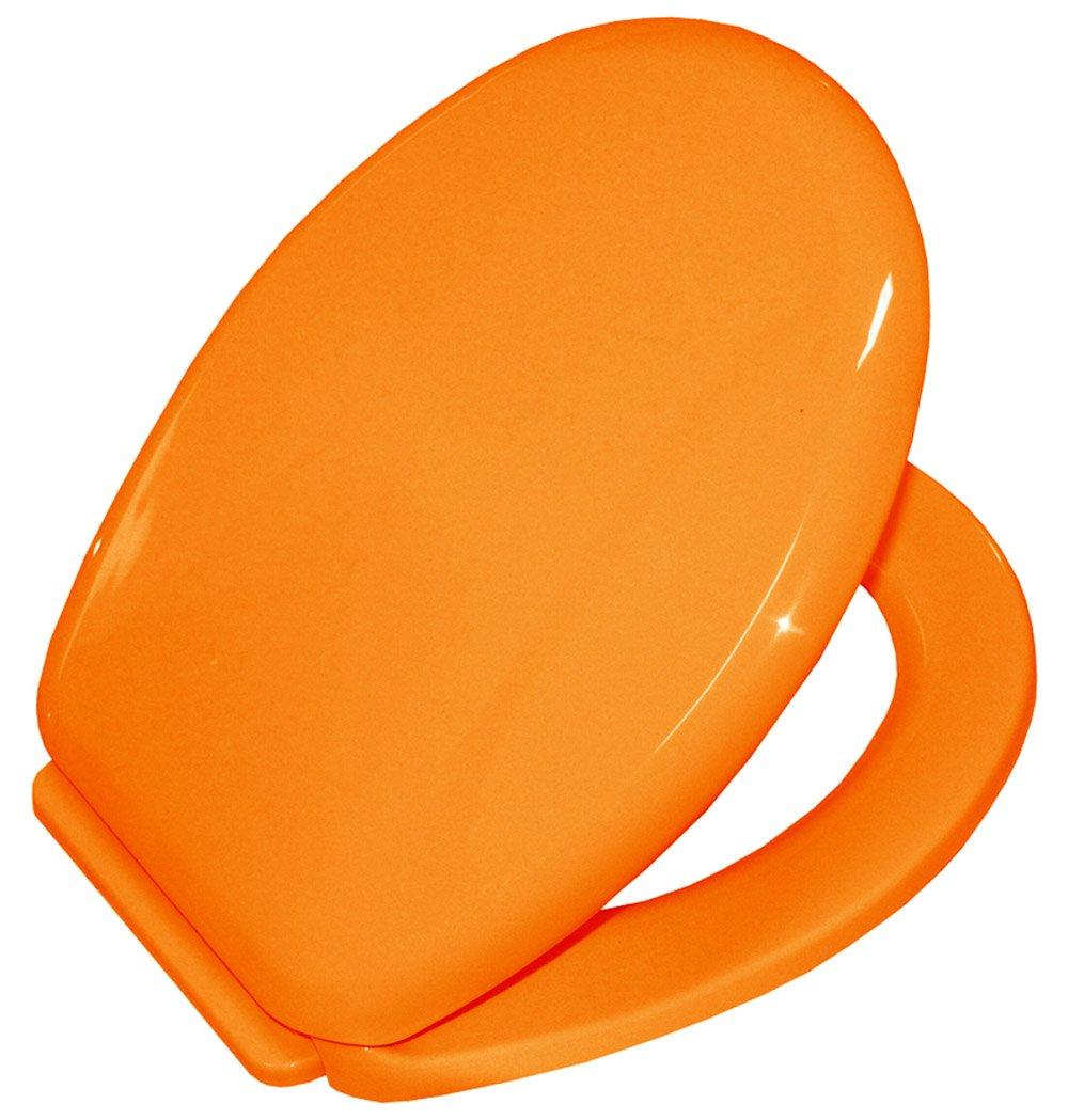 Bisk 02715 Yucca color naranja Asiento para inodoro polipropileno