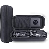 Holaca Funda Protectora Compatible con Insta360 One X, Funda de Viaje rígida de EVA Negra con asa de Transporte para cámara Insta360 One X 360 Action