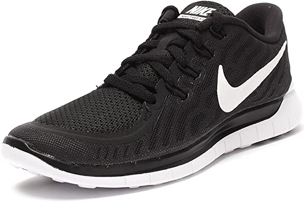 Nike Women's Free 5.0 Black/White/Dark