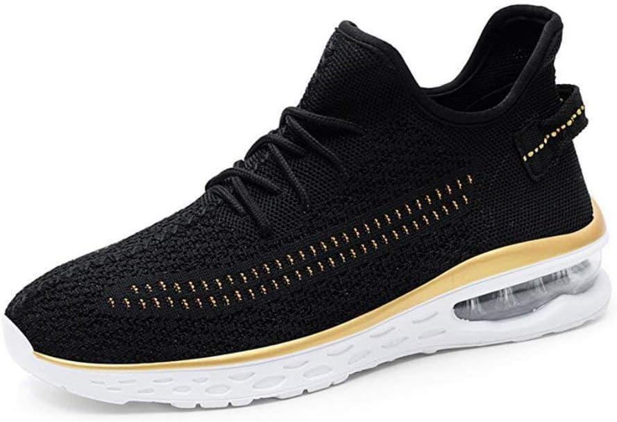 Zapatillas deportivas para hombre nuevas, zapatillas deportivas, zapatillas de deporte, muelles de aire, malla transpirable, zapatos deportivos casuales, zapatillas deportivas Calzado perezoso con un: Amazon.es: Hogar