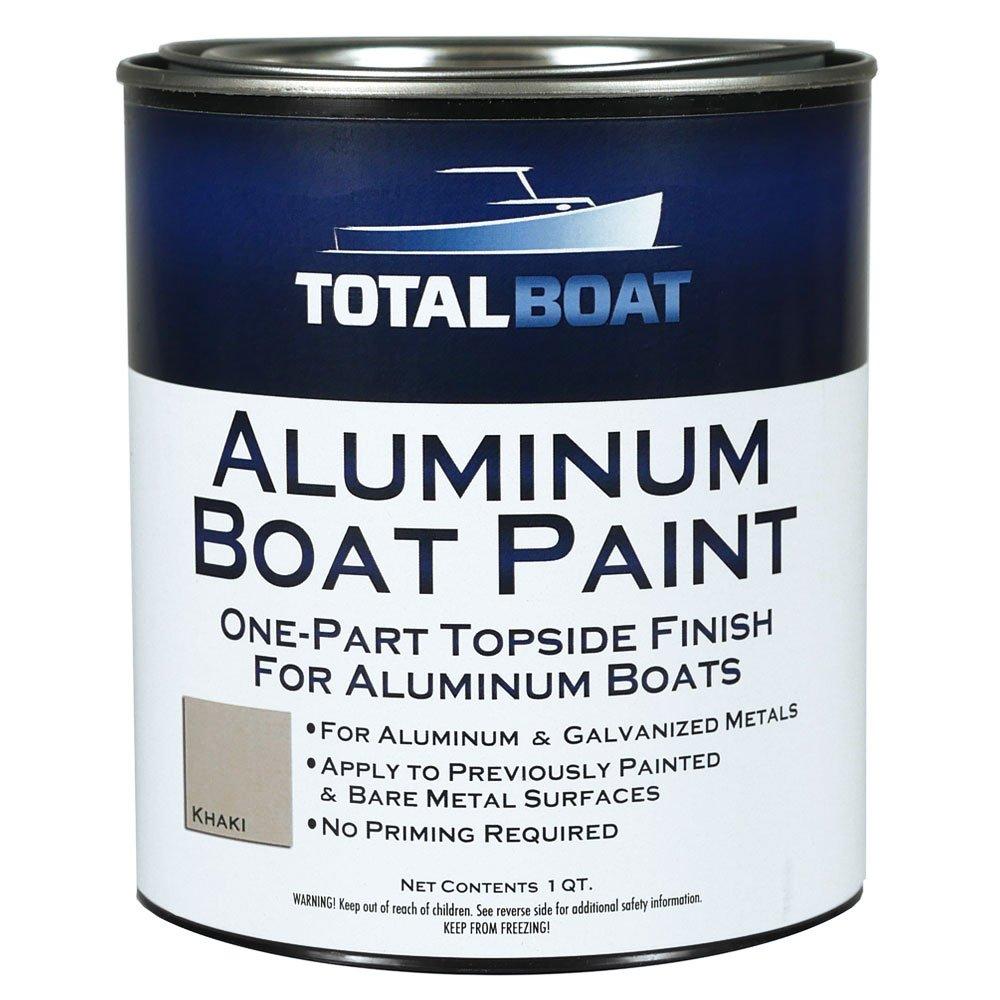 TotalBoat Aluminum Boat Paint (Khaki, Quart)