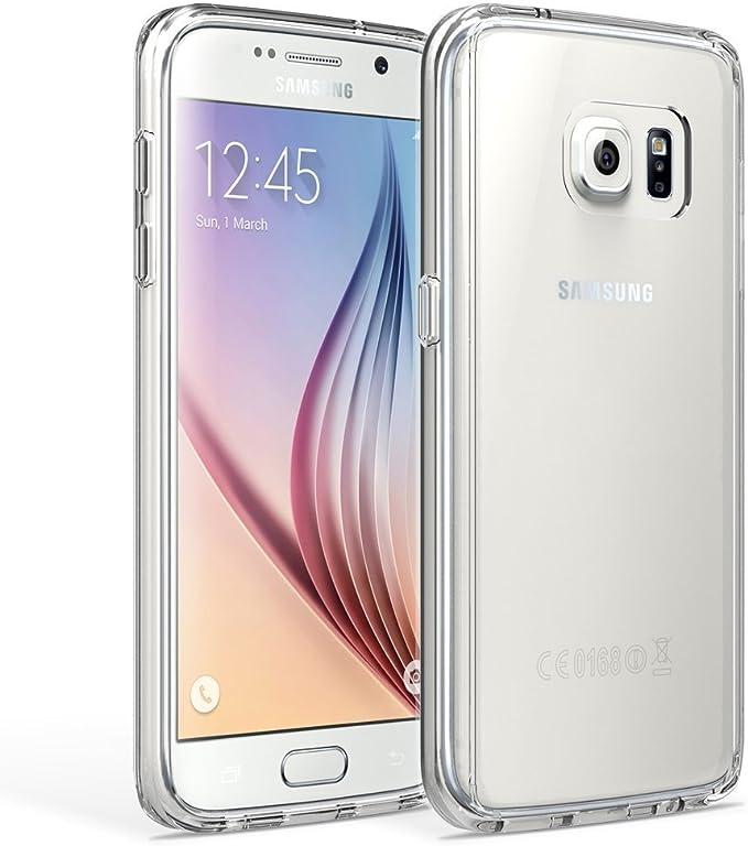 REY Funda Carcasa Gel Transparente para Samsung Galaxy S7 Ultra Fina 0,33mm, Silicona TPU de Alta Resistencia y Flexibilidad: Amazon.es: Electrónica