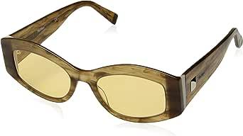 Max Mara MM IRIS STRIPED AMBER/YELLOW 52/20/140 women Sunglasses