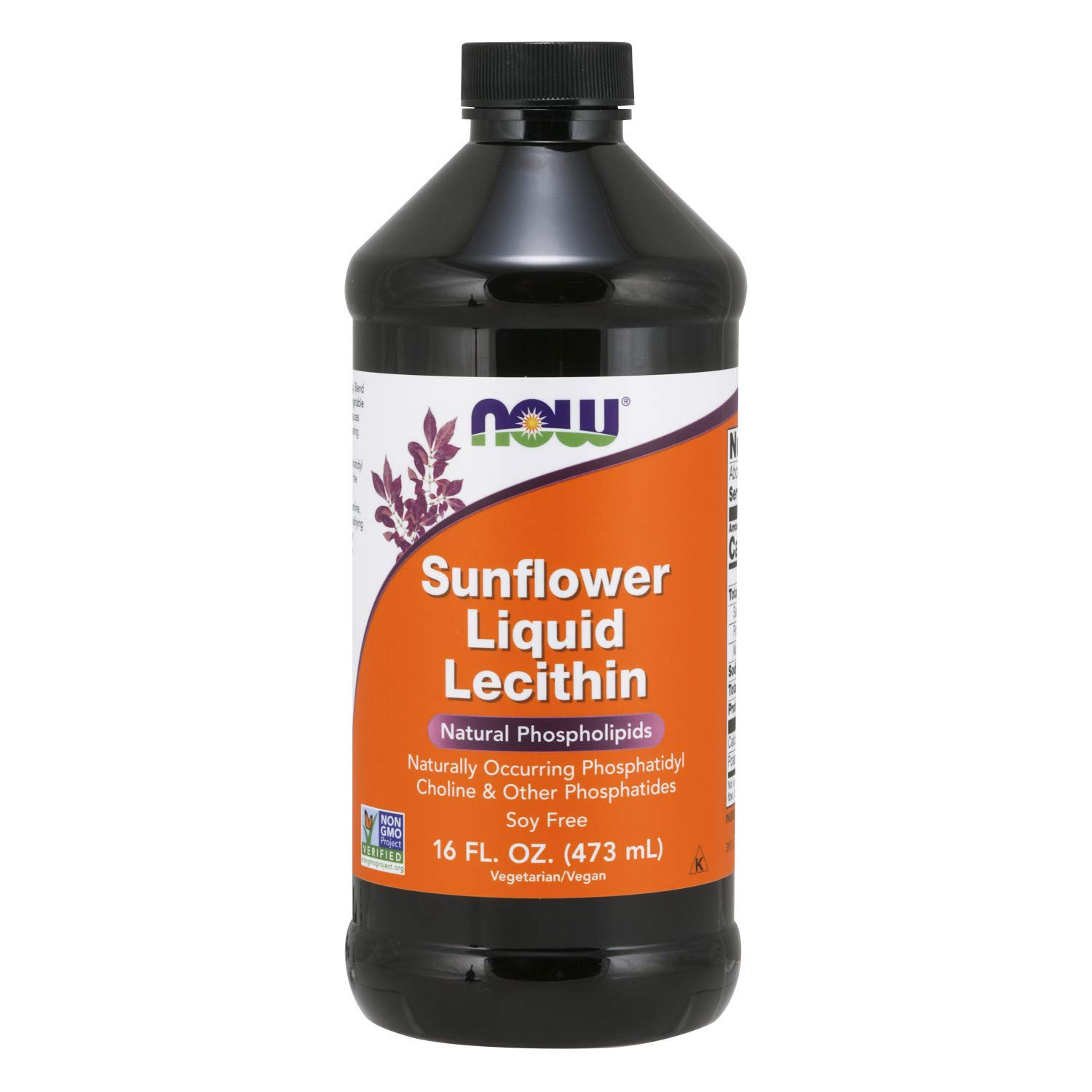 Now Foods Sunflower Liquid Lecithin, 16 Fl Oz