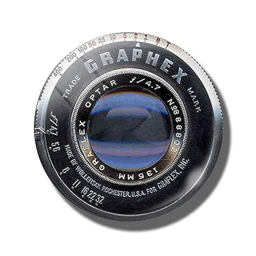 Frima Imán para Nevera de 30 mm, diseño de Lente de cámara: Amazon ...
