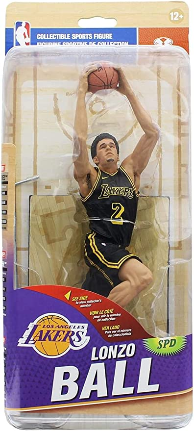 Lonzo Ball McFarlane Series 32 Los Angeles Lakers FAST SHIPPING