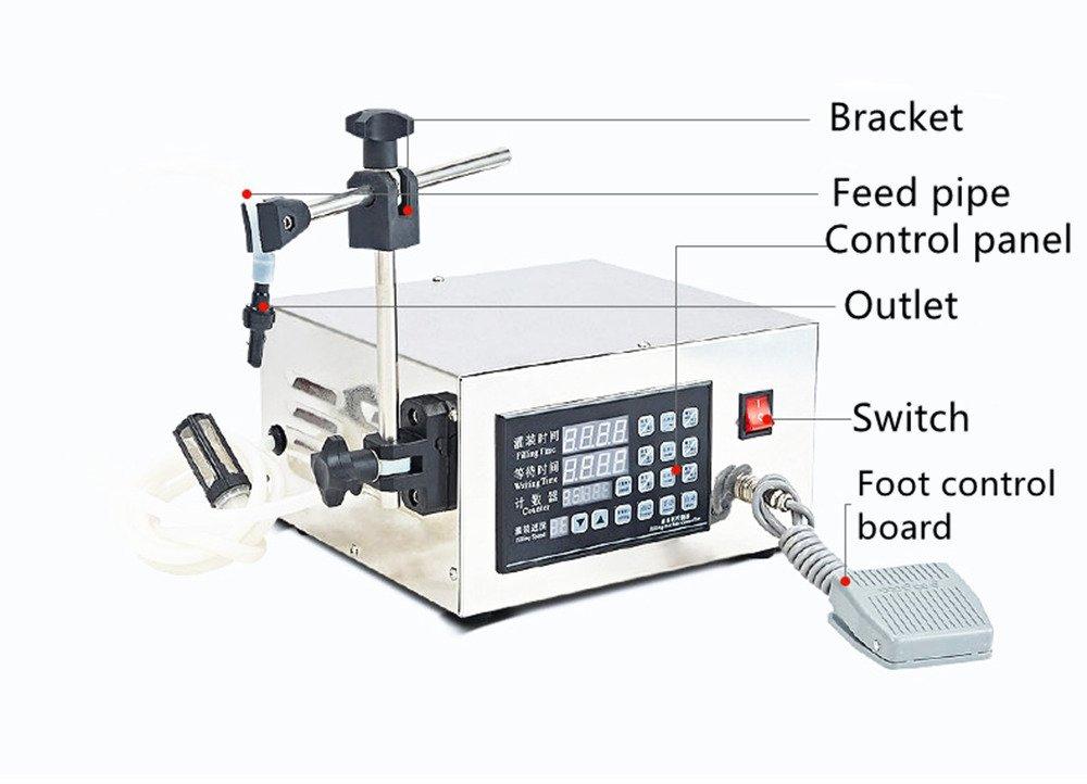 KC-280 Automatic Liquid Filling Machine Intelligent Control Small Beverage Canning Machine by BAOSHISHAN (Image #2)