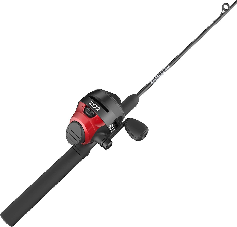 "ZEBCO 202 SLINGSHOT 5/' 6/"" Spincast Fishing Combo NEW #SLSCRD562MLA FREE US SHIP"