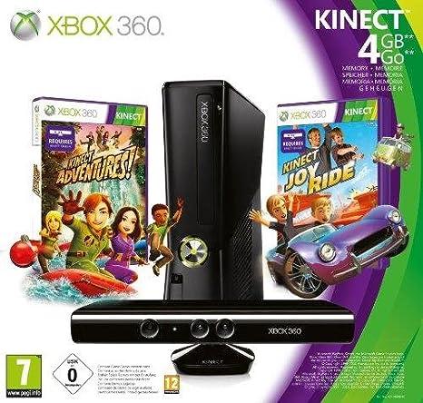 Microsoft Xbox 360 4GB Console with Kinect - juegos de PC ...