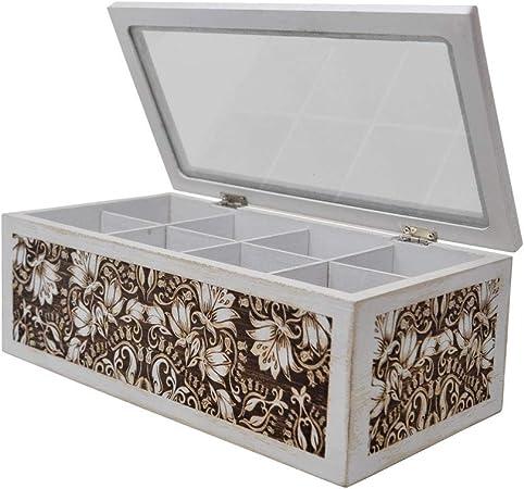 Amazon.com: gbHome GH-6746 - Caja de té decorativa para el ...