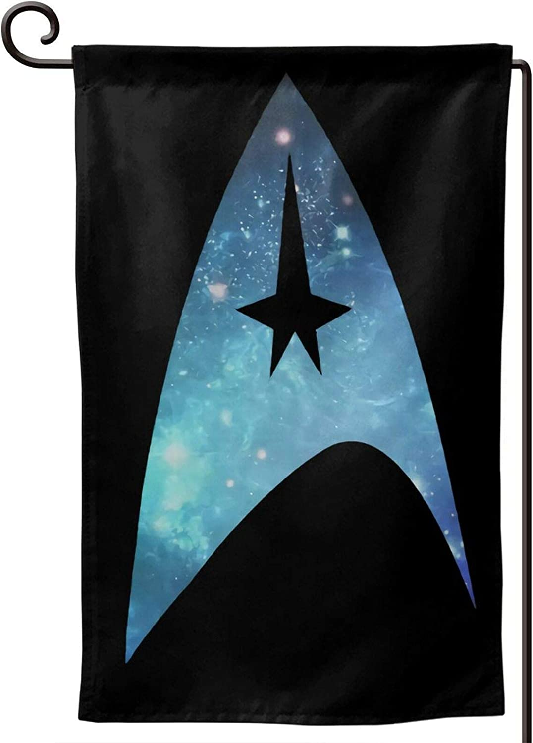 CaMoloMaC Star-Trek Courtyard Outdoor Decoration Double-Sided Printing Garden Flag