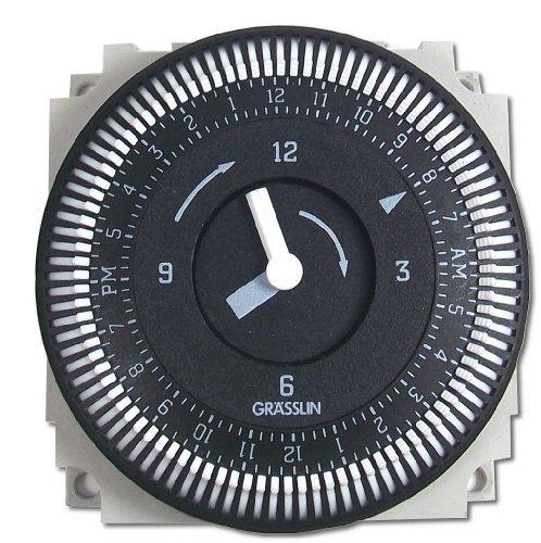 Grasslin Timer by Intermatic FM/1 STUZ-L 24-Hour Timer 01.76.0019.1 -