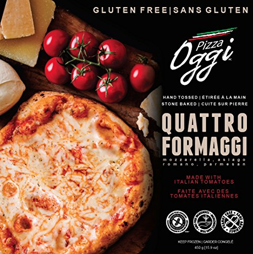 Pizza Oggi Gluten Free Pizza, Quattro Formaggi, 330 Gram (Pack of 12)