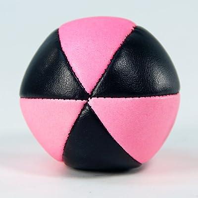 Zeekio Zeon 100g Juggling Ball (1) - Pink and Black: Toys & Games
