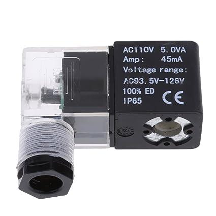 non-brand Sharplace Válvula de Solenoide Amplificador: 45mA Herramientas Aire Neumático Multiusos Accesorios -