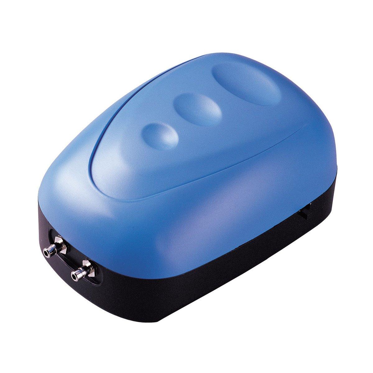 (Double Outlet, up to 151.4l) CNZ Aquarium Air Pump