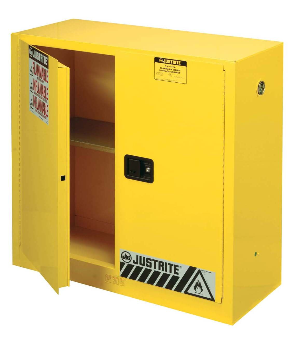 Amazoncom Justrite SureGrip EX Flammable Safety Cabinet - Fireproof chemical cabinet