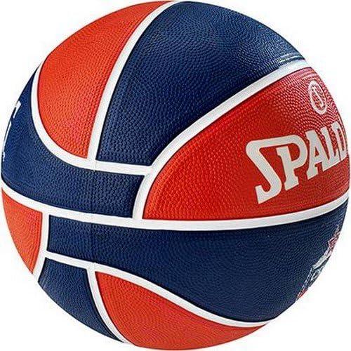 Hombre Spalding El Team CSKA Moscow Sz.7 Azul Marino//Rojo 7 Bal/ón de Baloncesto 83-077Z