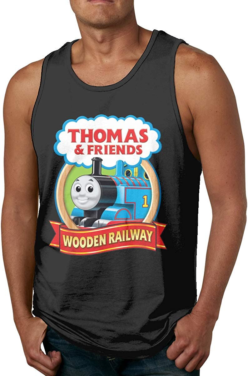 Seuriamin Thomas The Tank Engine & Friends Mens Humor Workout Sleeveless Tank Top Shirts 61rUErwfUwL