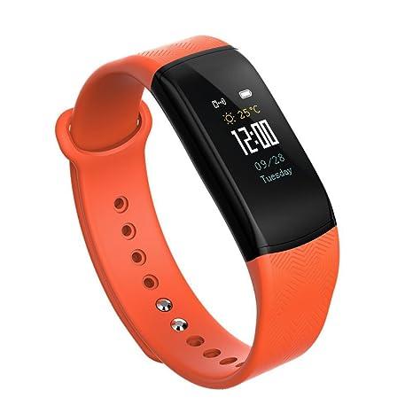 "OOLIFENG Fitness Tracker Relojes 0.96 ""IPS Pantalla Colorida Bluetooth Pulsera Inteligente Para Ios Android"