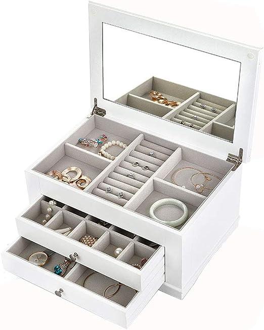 Caja organizadora de joyas for mujeres / niñas, caja de ...