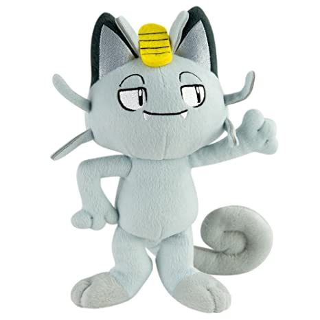 Amazon.com: TOMY - Peluche Pokemon - Miaouss Alola 25cm - 0053941192655: Toys & Games