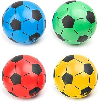 zijianZZJ Pelota de fútbol Infantil con balón de fútbol Inflable ...