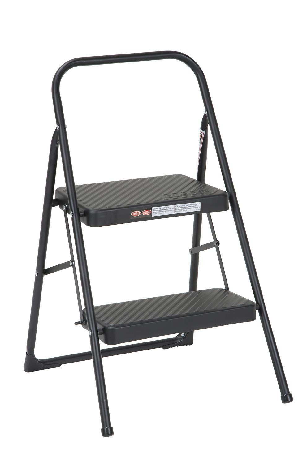 Cosco Two Step Household Folding Step Stool by Cosco
