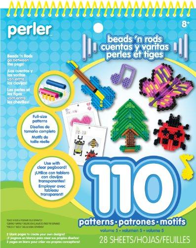Perler Beads N Rods Pattern Pad ()