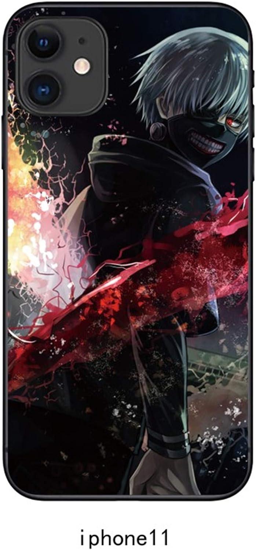 RNGEDG Case for Apple iPhone 11, Tokyo Ghoul Manga Anime Comic New TPU Cover (9)