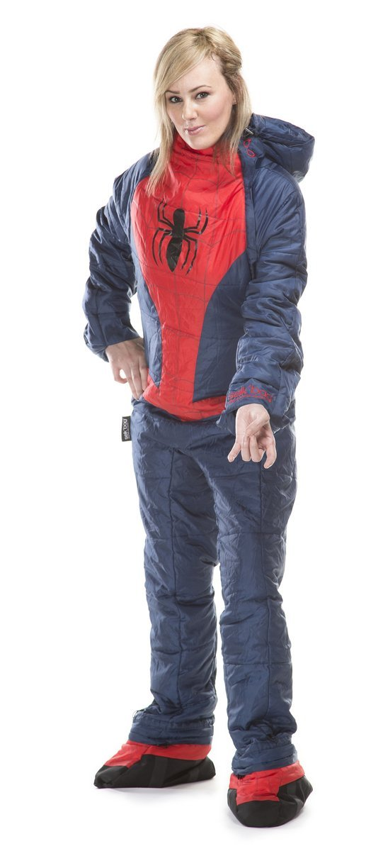 Saco de dormir Spiderman SelkBag para adulto - XL: Amazon.es: Deportes y aire libre