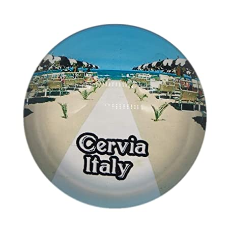 Weekino Souvenir Playa Italia Imán de Nevera Cristal de Cristal 3D ...