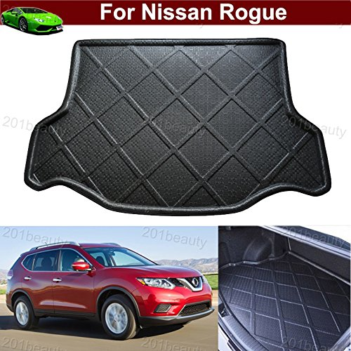 Car Boot Pad Carpet Cargo Mat Trunk Liner Tray Floor Mat For Nissan Rogue 5 Seater 2014 2015 2016 2017 ( Not fit for 2017 Rogue SV ) TianTian Auto Part Co. Ltd