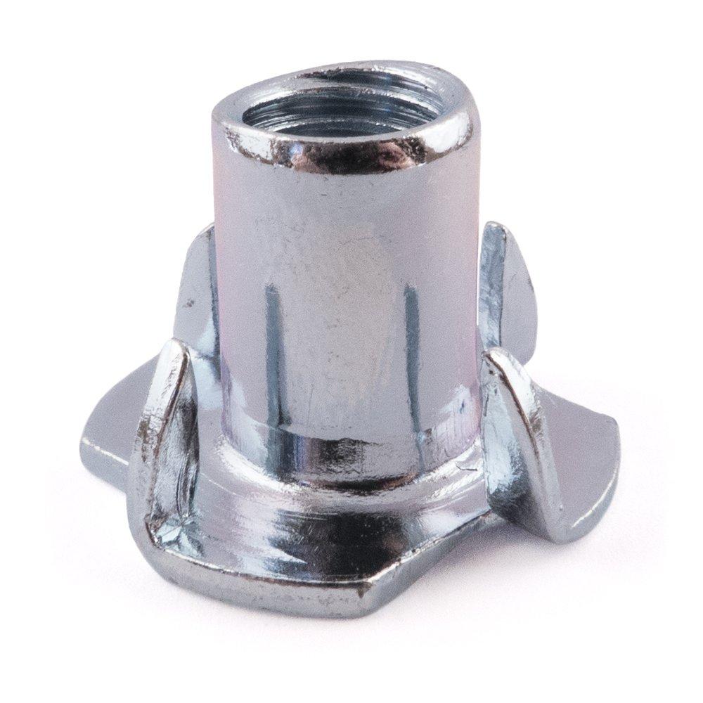 SD Products Ptn1018bz-50'4' à griffes en acier T-nut, Zinc plaqué, M10x 18mm, lot de 50pièces Zinc plaqué M10x 18mm lot de 50pièces SD Products Ltd