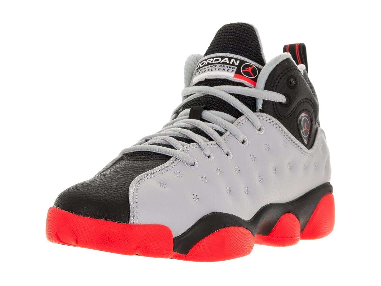 Amazon.com | Nike Jordan Kids Jordan Jumpman Team II Bg Wolf Grey/Infrared  23/Black/Infrared 2 Basketball Shoe 7 Kids US | Basketball
