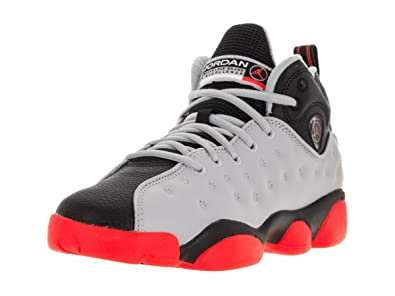 Nike Jordan Kids Jordan Jumpman Team II Bg Wolf Grey/Infrared 23/Black/