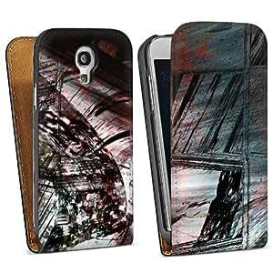 Diseño para Samsung Galaxy S4 Mini I9195 DesignTasche Downflip black - Grunge Chaos