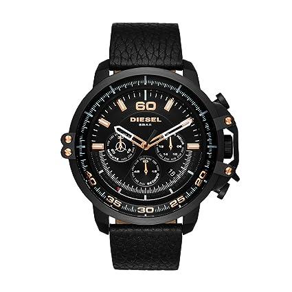 DieseI Deadeye Analog Black Dial Men's Watch - DZ4409