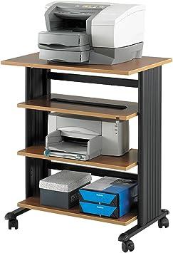Safco Products: Mueble de soporte ajustable de 4 niveles para ...