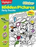Highlights Sticker Hidden Pictures Party Puzzles, Highlights for Children Staff, 162091767X