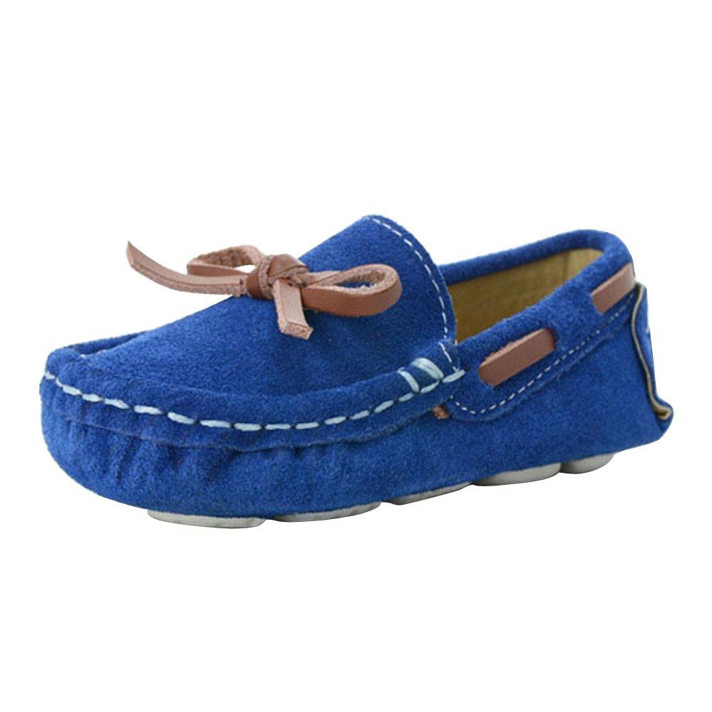 OCHENTA Chicos Chicas Suede Patinaje Al Aire Libre Zapatos Casuales Zapatos Planos (Niño/Niño pequeño): Amazon.es: Zapatos y complementos