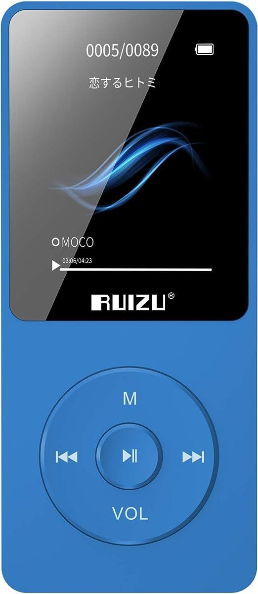 16GB 8G 4G RUIZU X02 Sport Lossless HIFI MP3 Music Player Recorder FM Radio ZH