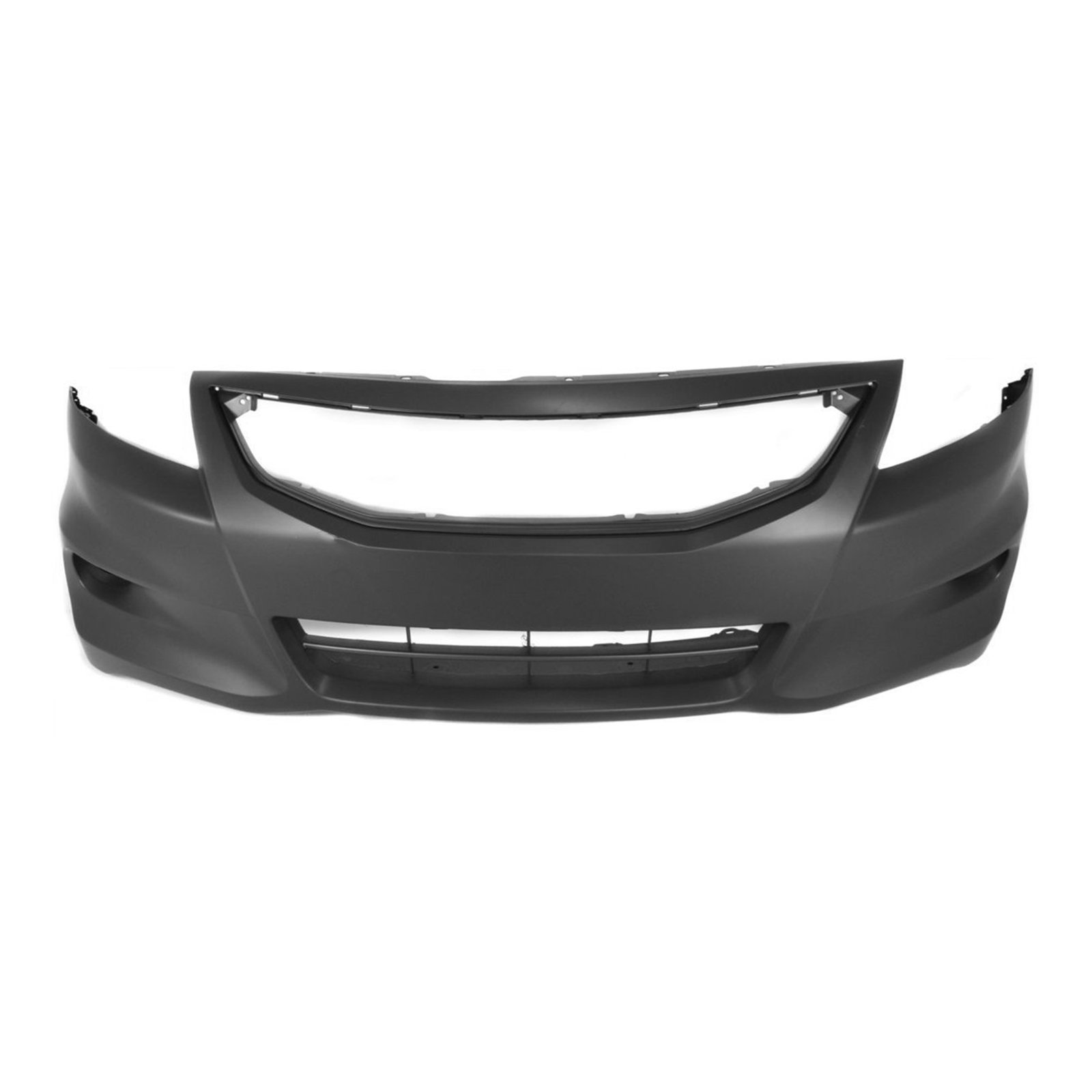 MBI AUTO - Painted to Match, Front Bumper Cover Fascia for 2011 2012 Honda Accord Coupe 2-Door 11 12, HO1000277
