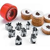 Lacor 68087- Set 8 stampi per biscotti